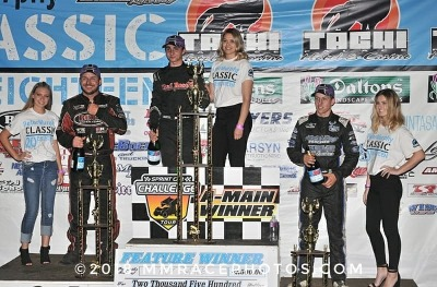 GIOVANNI SCELZI RACES TO 1st SPRINT CAR CHALLENGE TOUR WIN ON NIGHT 1 OF PETER MURPHY CLASSIC