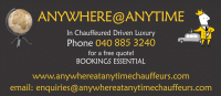 Anywhere Anytime Chauffeur