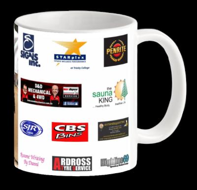 Drinking Mug - Back