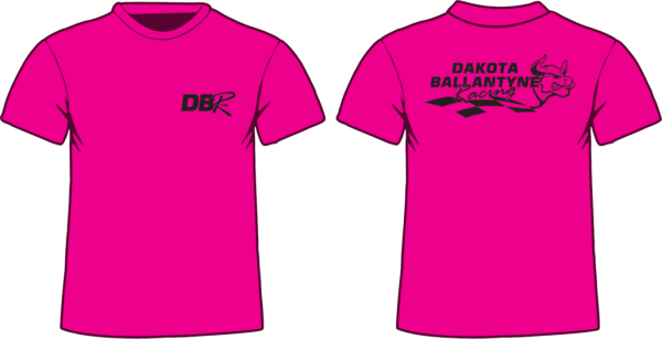 Kids Pink with Black T-Shirt