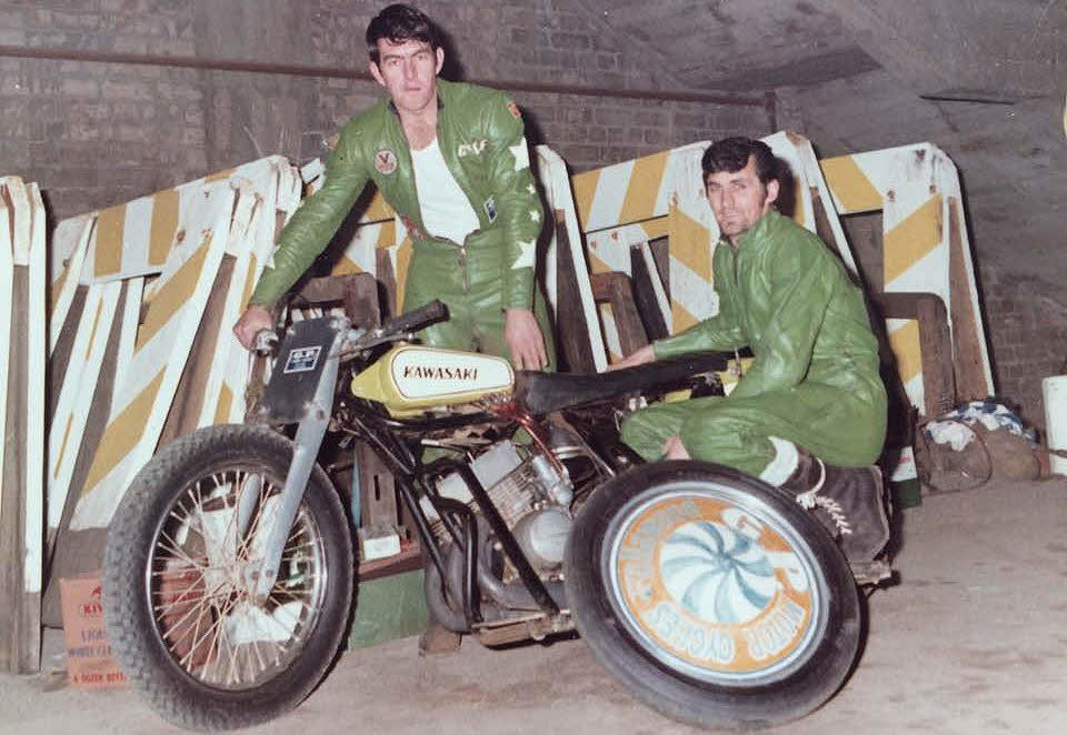 TWO MEN WHO REVOLUTIONISED AUSTRALIAN SPEEDWAY SIDECAR RACING