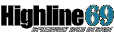 Highline69 Speedway Website Design