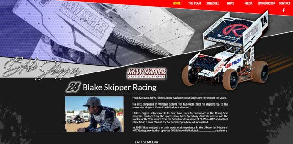 Blake Skipper - BLAKE SKIPPER RACING