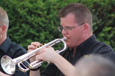 """Scott Abrahamson with Intrepid Brass"""