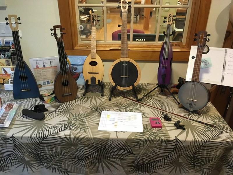 The Magic Fluke manufactures top quality ukuleles in Massachusetts, USA.