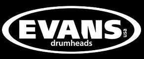 """""""Evans Drumheads"""""""
