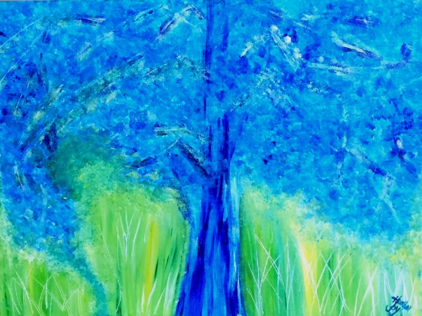Touching Ground (SOLD)