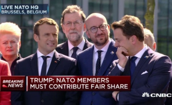 European Leaders Snicker While Trump is Speaking to NATO