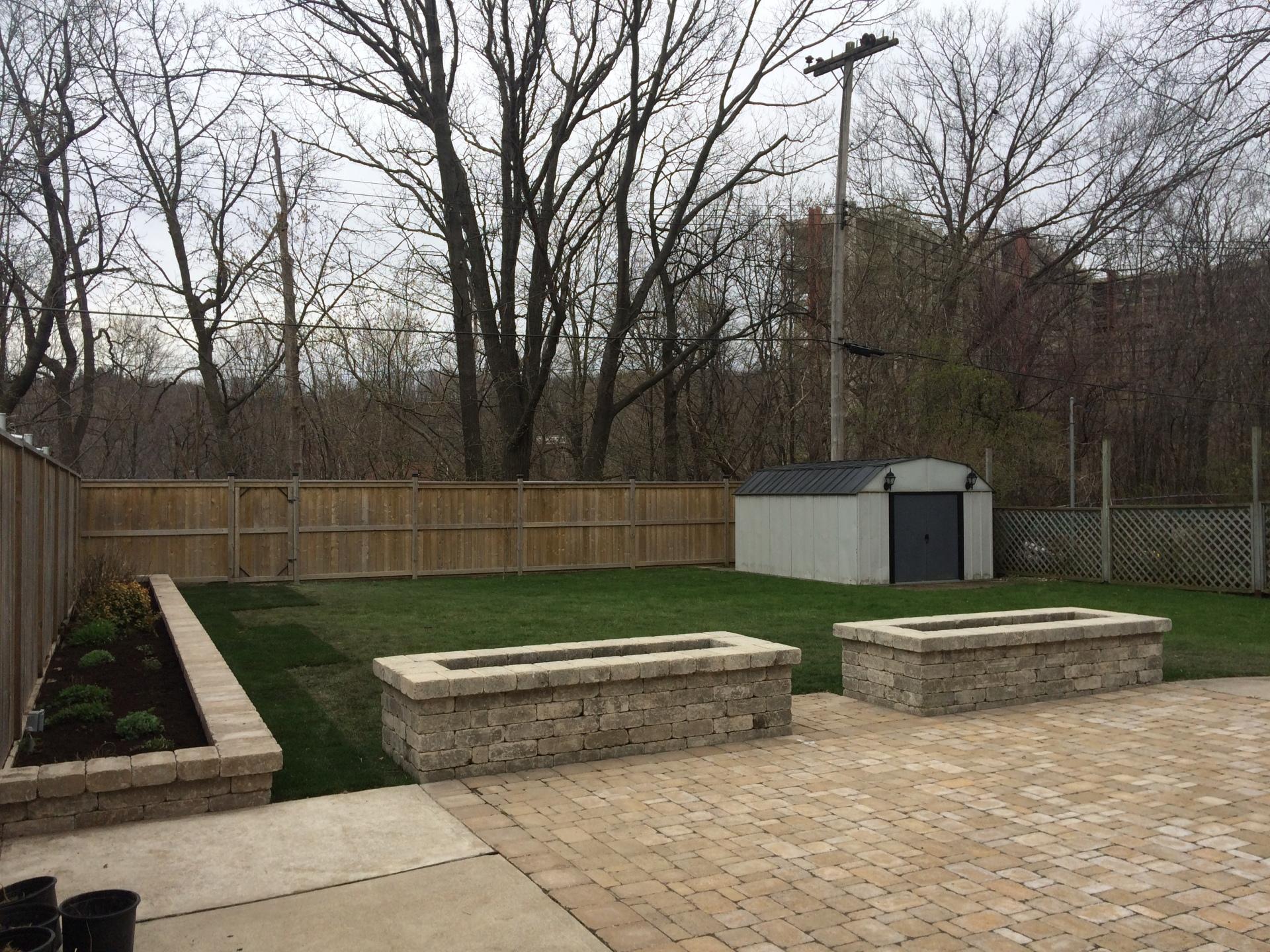 Patio & Retaining Wall Planters