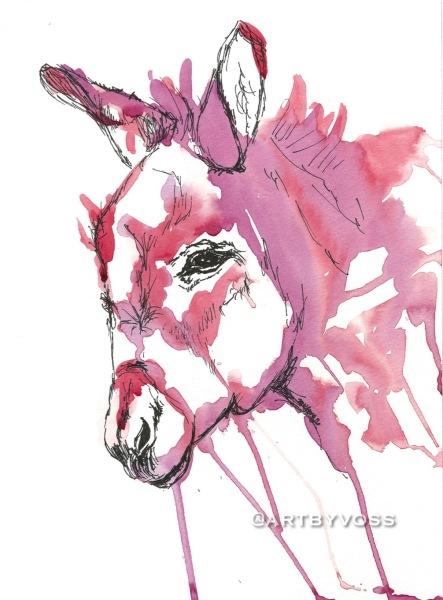 Pink Donkey Drip