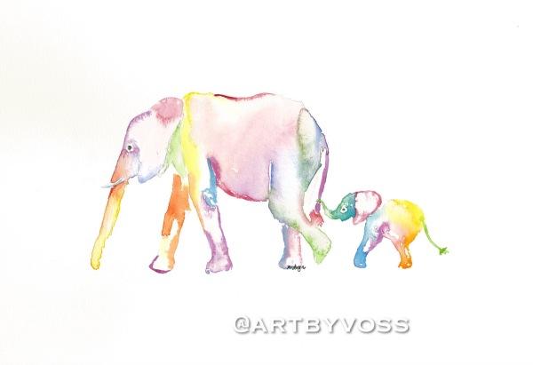 Rainbow Follow Me