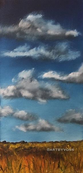 Prairie  Clouds Tall