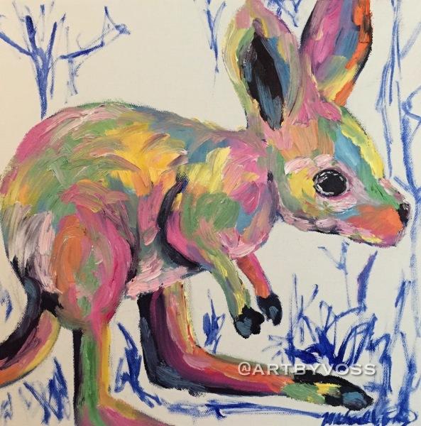 Pastel Kangaroo