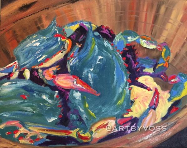Bushel of Blue Crabs