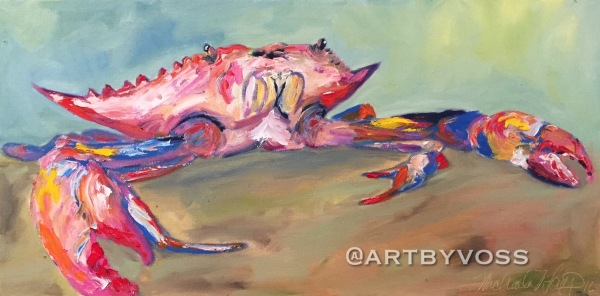 Pastel Crabs