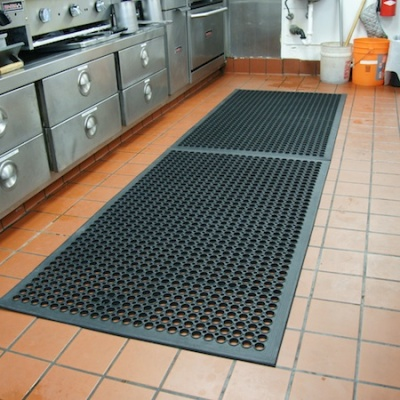 Cleaning Commercial Kitchen Floor Mats