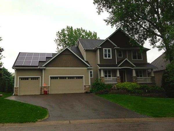 Solar Array on Attached Garage