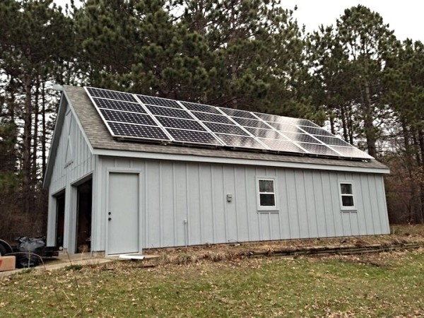 Solar Array on Detached Structure