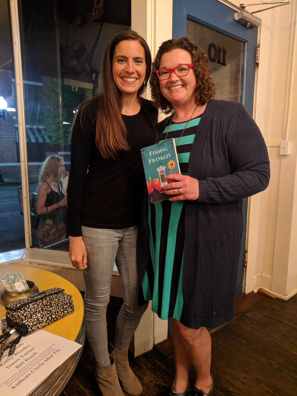 """Book signing for """"Finding Franklin"""" by Katie Shands"""