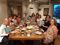 """Book club meeting to discuss """"Finding Franklin"""""""