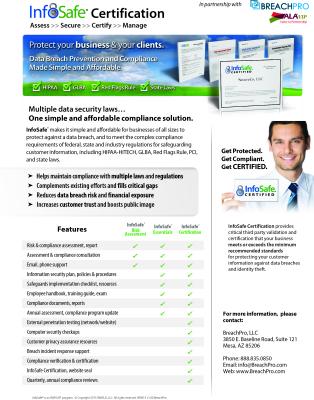 InfoSafe Certification