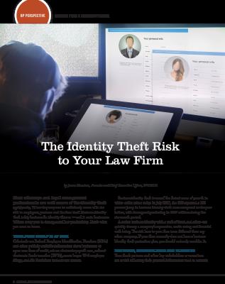 Identity Theft, ALA, Association of Legal Administrators, BreachPro, iDefend