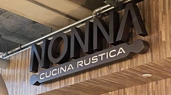 NONNA Restaurant Sign