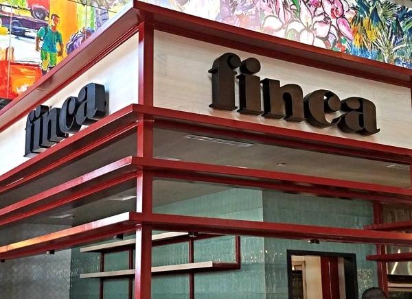 Finca Restaurant Sign