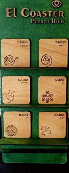 Taino Coasters