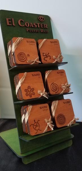 Coaster Taino Display