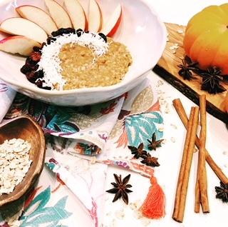 RECIPE: Fall Harvest Oatmeal