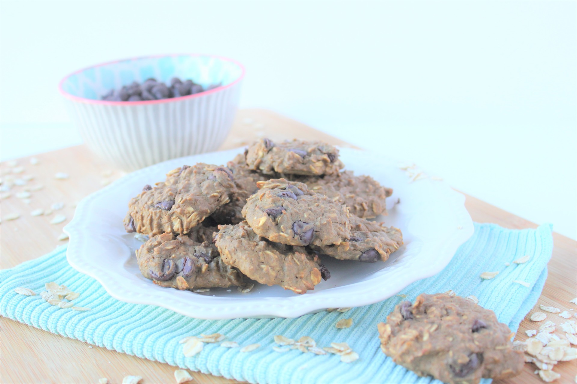 RECIPE: Double Chocolate Protein Oatmeal Cookies