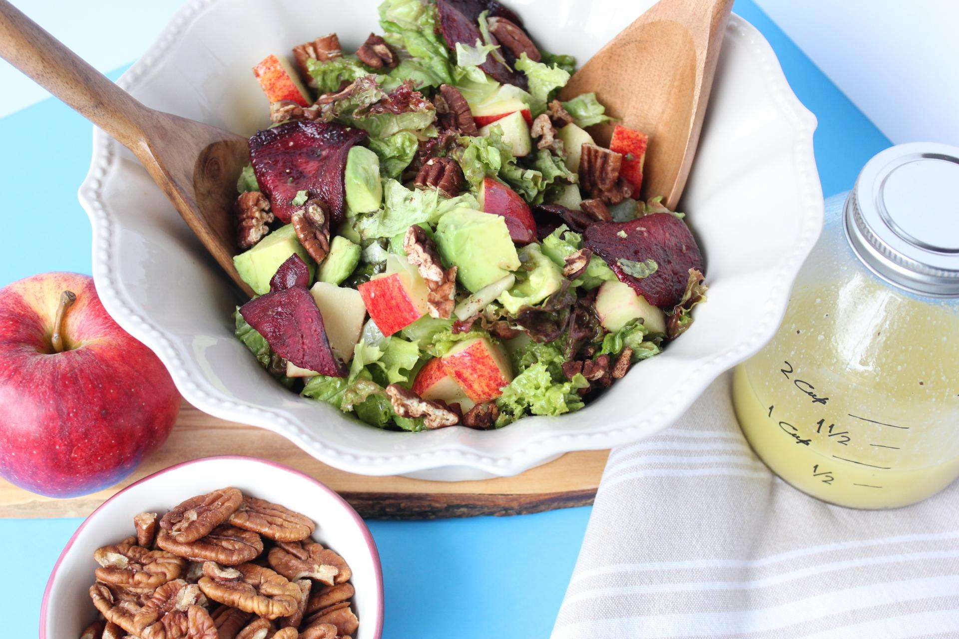 RECIPE: Roasted Beet & Apple Salad, Detoxing 101