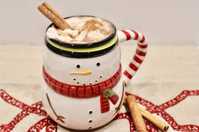 RECIPE: Gingerbread Hot Chocolate