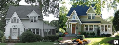 Before & After Exteriors