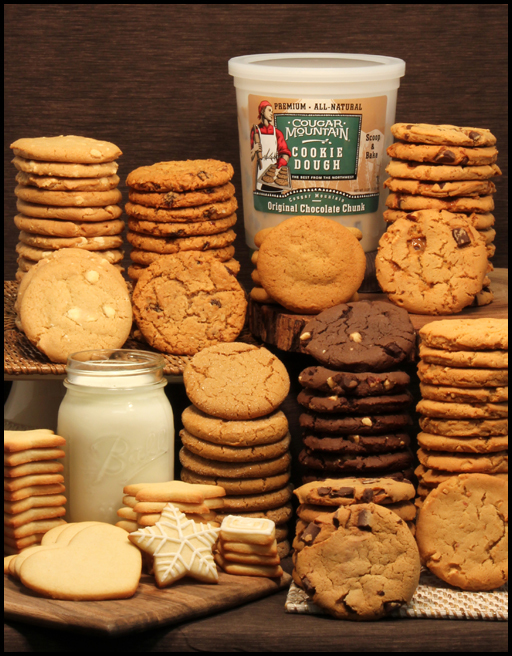 Cookie Dough Fundraiser Forms in Kid Mail