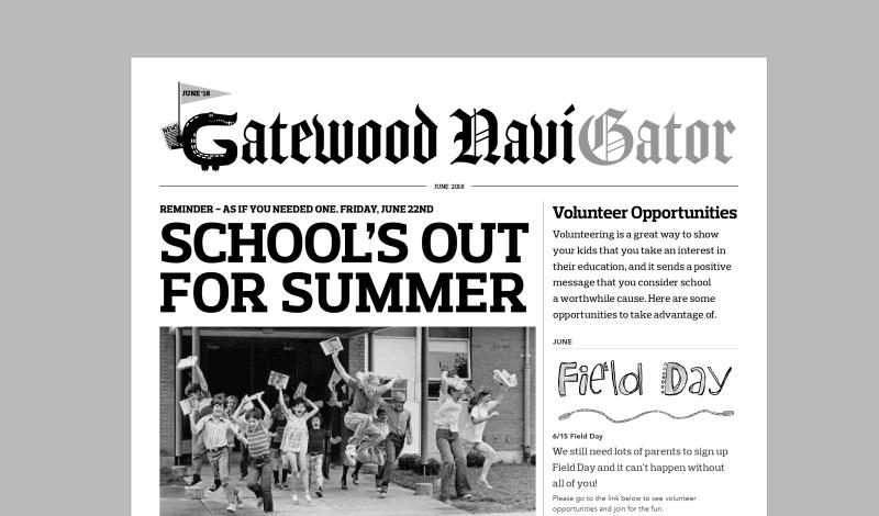 June NaviGator in Kid-Mail Today