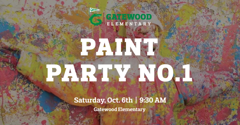 10/6 Paint Party - This Saturday