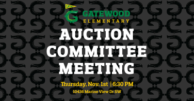 11/4 Auction Meeting Thursday