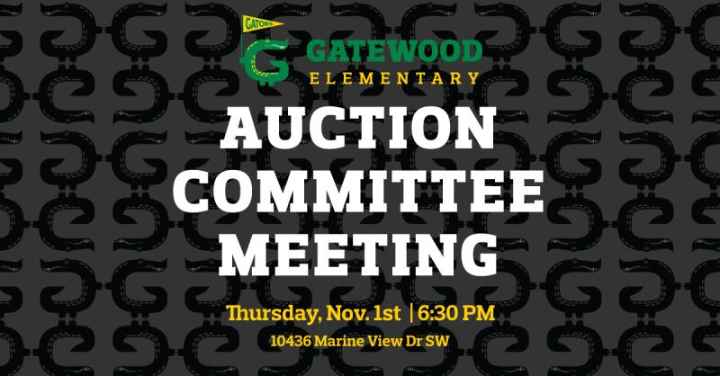 11/4 Auction Meeting Thursday