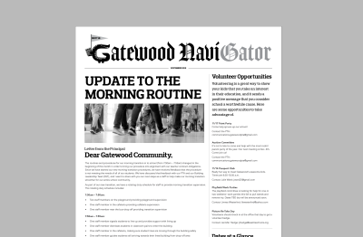 Nov. NaviGator Print Edition in Kid Mail