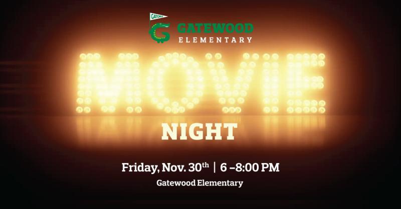 11/30 - Movie Night - Volunteers & Donations Needed