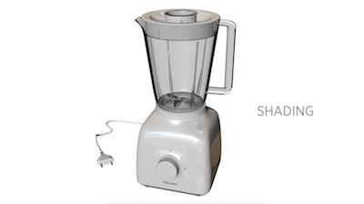 3D Model: Philips blender