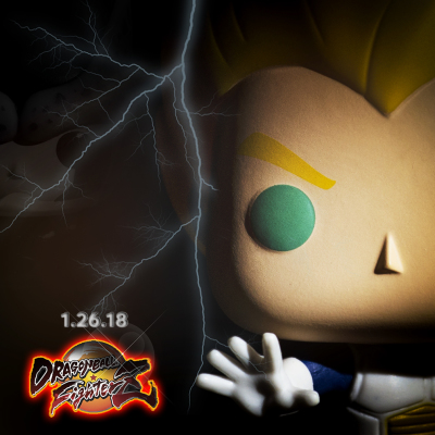 ROCK THE DRAGON! | Dragonball FighterZ Funko Pop Photography