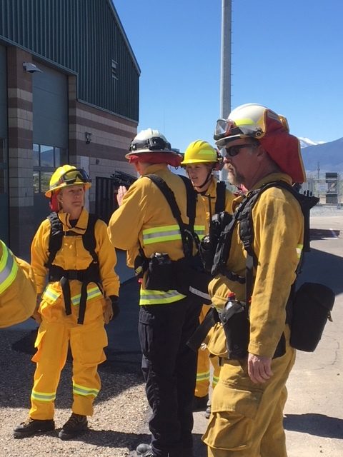 Wildland firefighting training