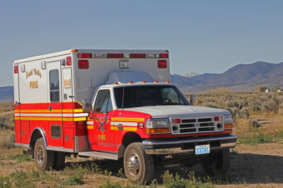 Rescue-40 1997 Ford  F-350 Type I Ambulance