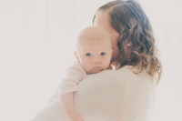 Mother and daughter back lighting with window light by Cayton Heath Photography