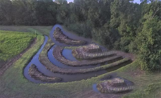 Ziggurat, Town Creek Park, Montgomery, TX.