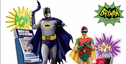 1966 Batman And Robin Collectible Figurines! HOLY GOTTA HAVE THEM!
