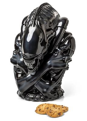 alien xenomorph cookie jar
